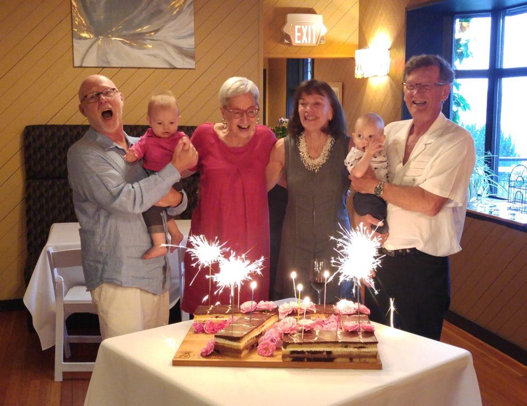 Grandpa Maclean and Grandma Martin 70th birthday