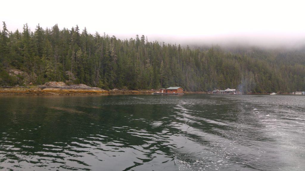 Shivas Cabin with Low Cloud